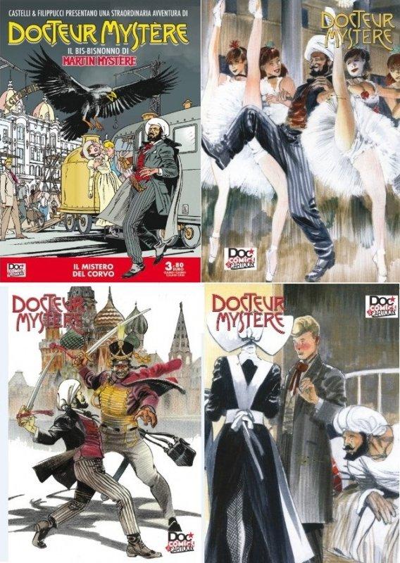 Docteur Mystère - Cartoline da Altrove 2020