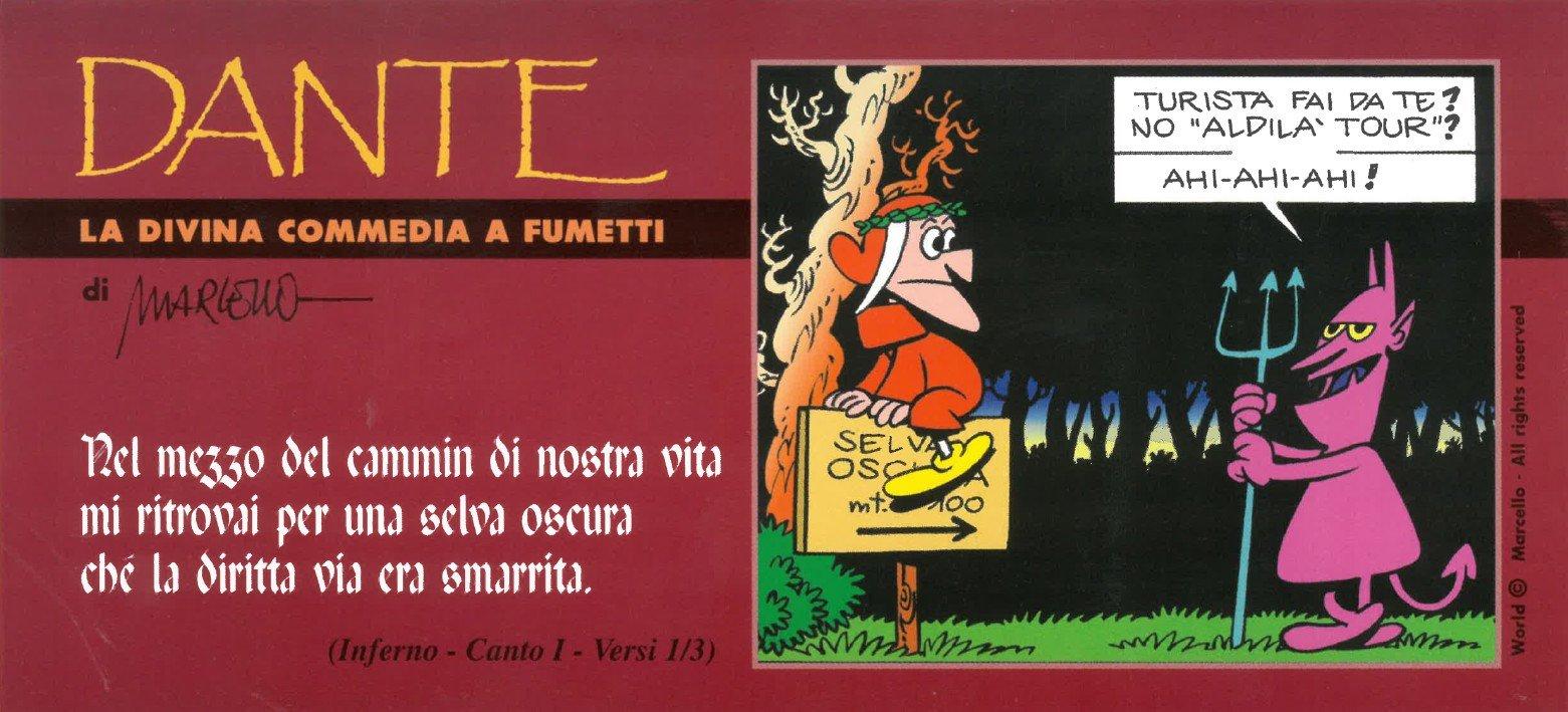 Dante. Il segnalibro