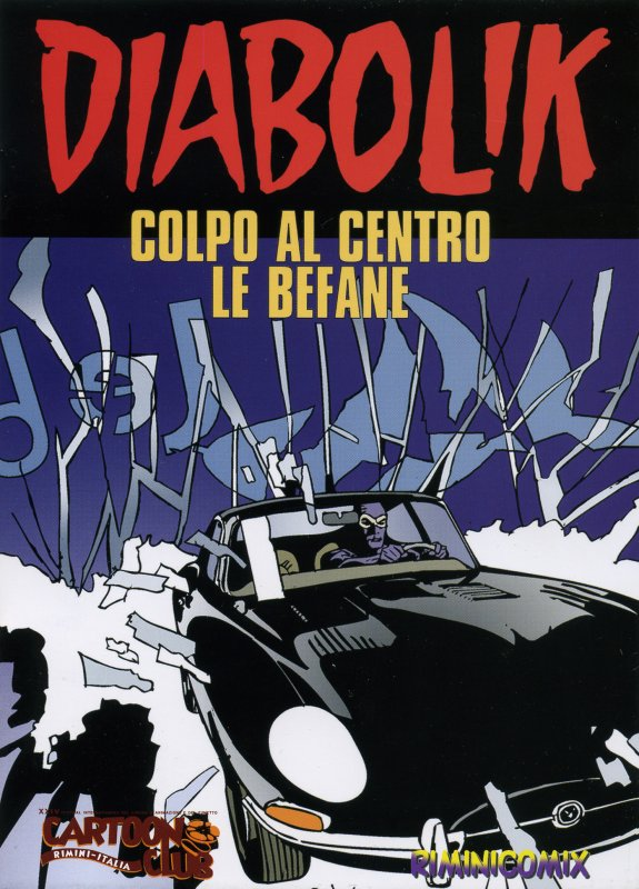 Diabolik: Colpo al Centro Le Befane
