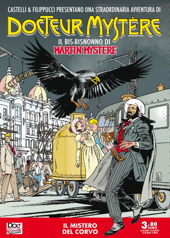 Docteur Mystère: Il mistero del corvo