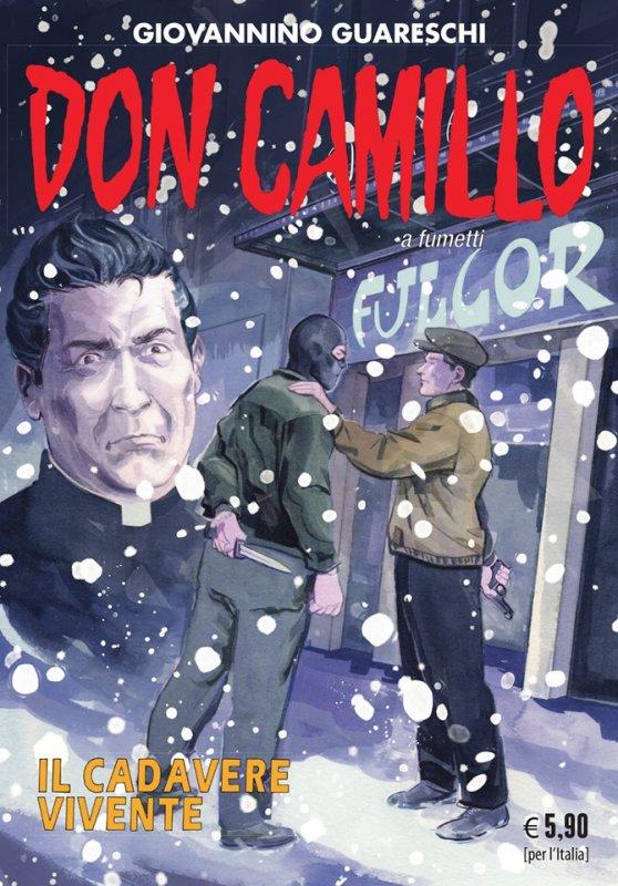 Don Camillo a fumetti: Il cadavere vivente