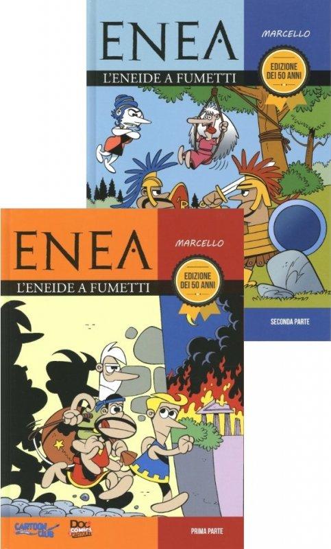 Enea. L'Eneide a fumetti - Prima & Seconda parte
