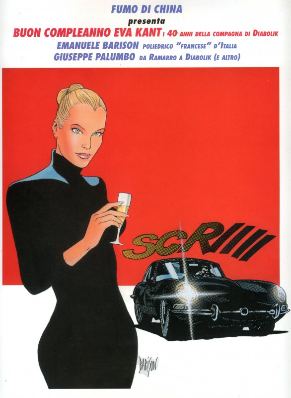 Fumo di China presenta: Buon Compleanno Eva Kant / Emanuele Barison / Giuseppe Palumbo