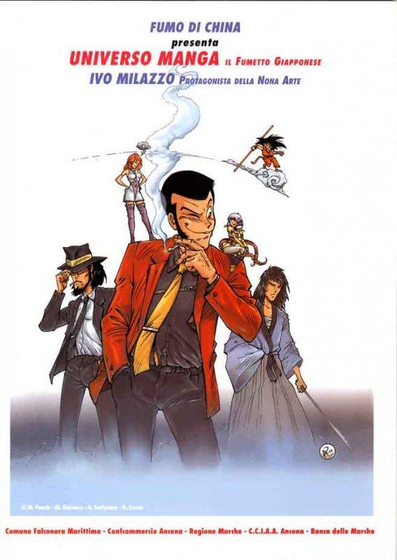 Fumo di China presenta: Universo Manga. Il fumetto giapponese / Ivo Milazzo. Protagonista della Nona Arte