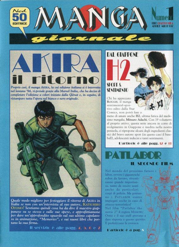 Manga Giornale n. 1