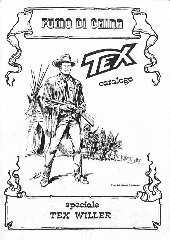 Fumo di China. Speciale Tex Willer