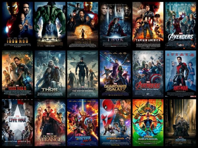 La Cronologia Del Marvel Cinematic Universe